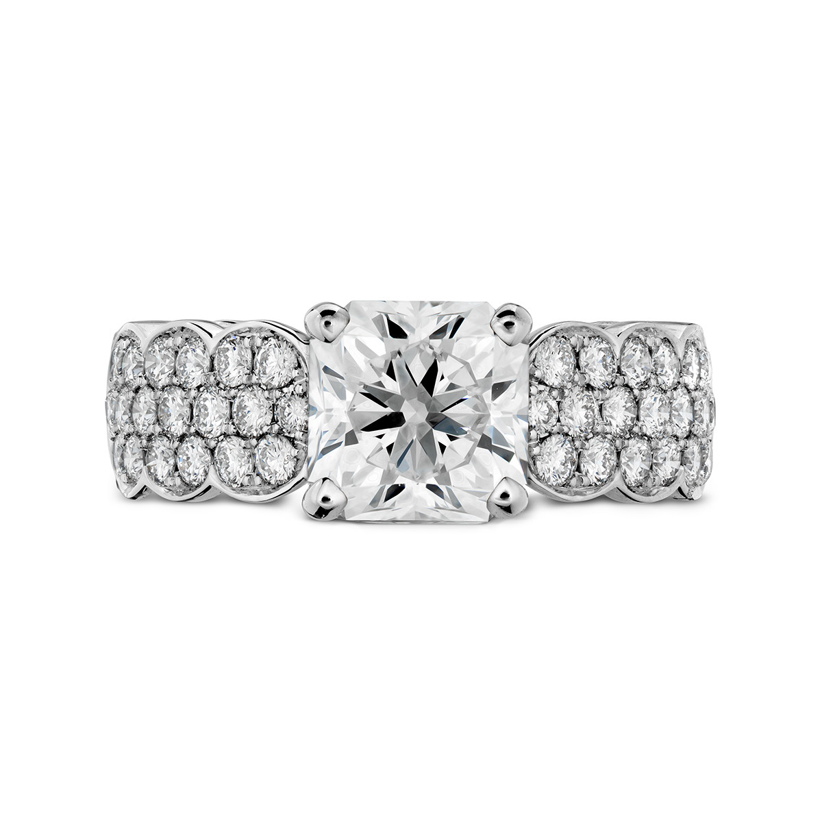 New Hearts On Fire® 0.74 CTW Diamond Lorelei Engagement Ring Setting
