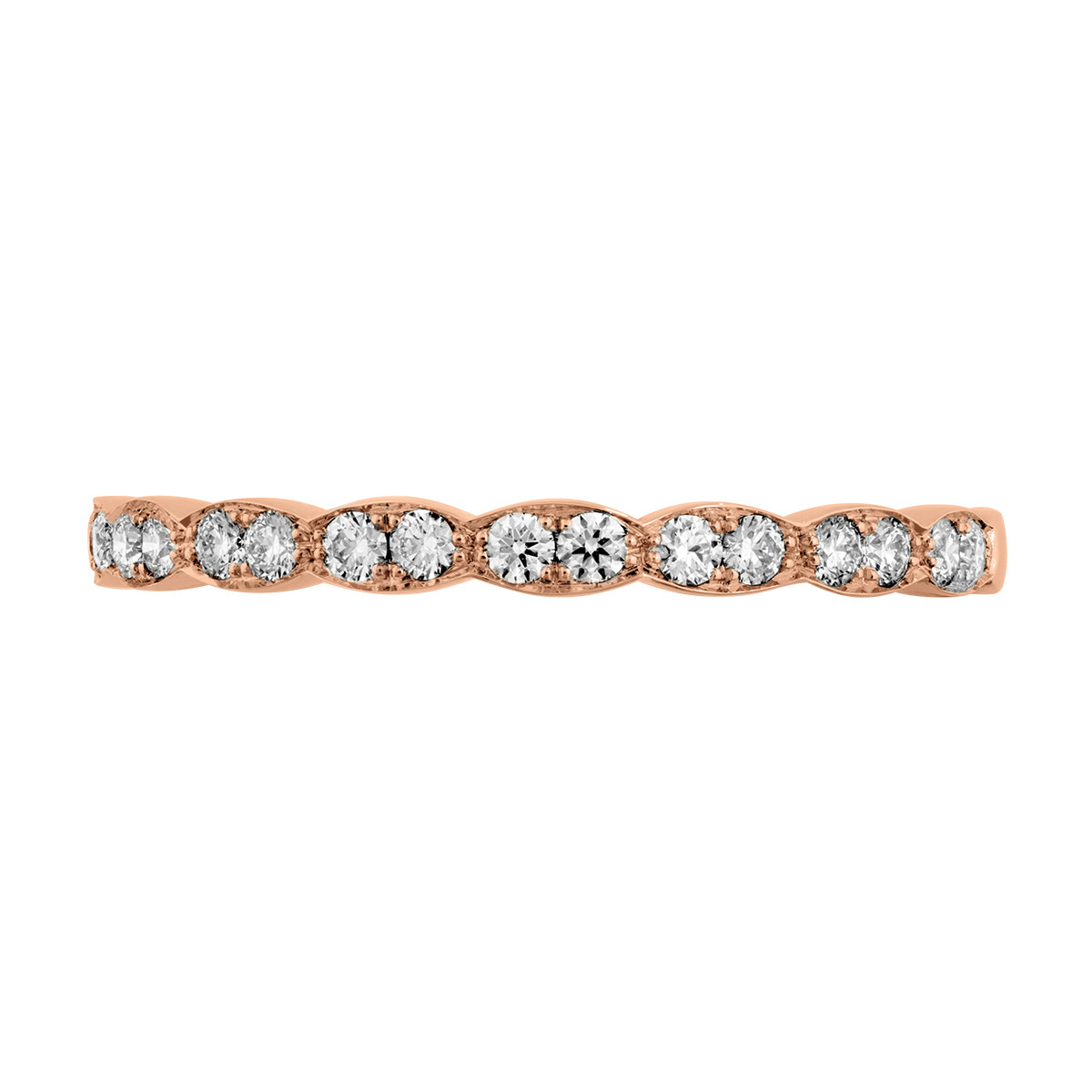 Hearts On Fire® Lorelei Floral DIamond Anniversary Band