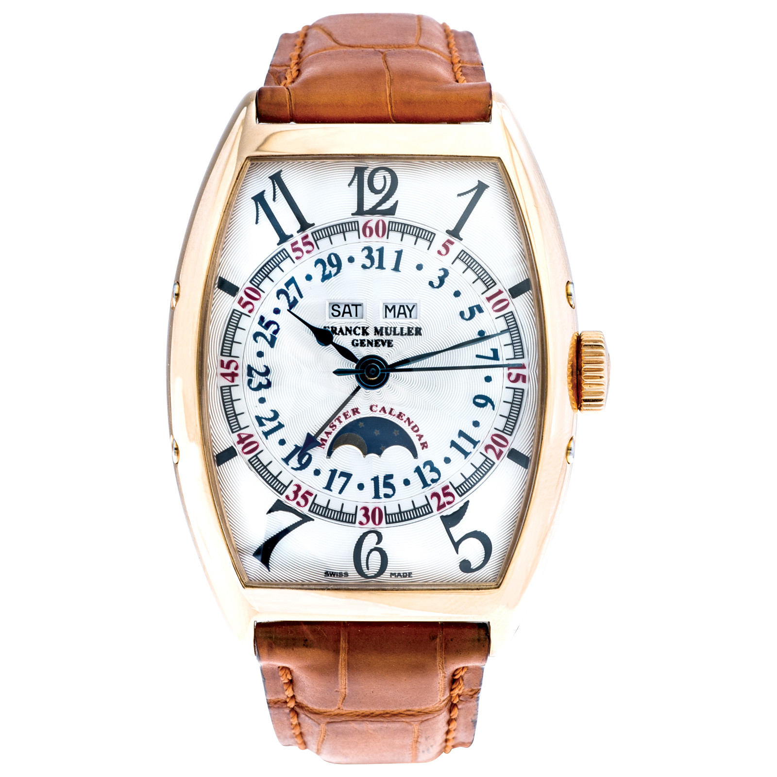 Pre-Owned Franck Muller Master Calendar with Moon Phase