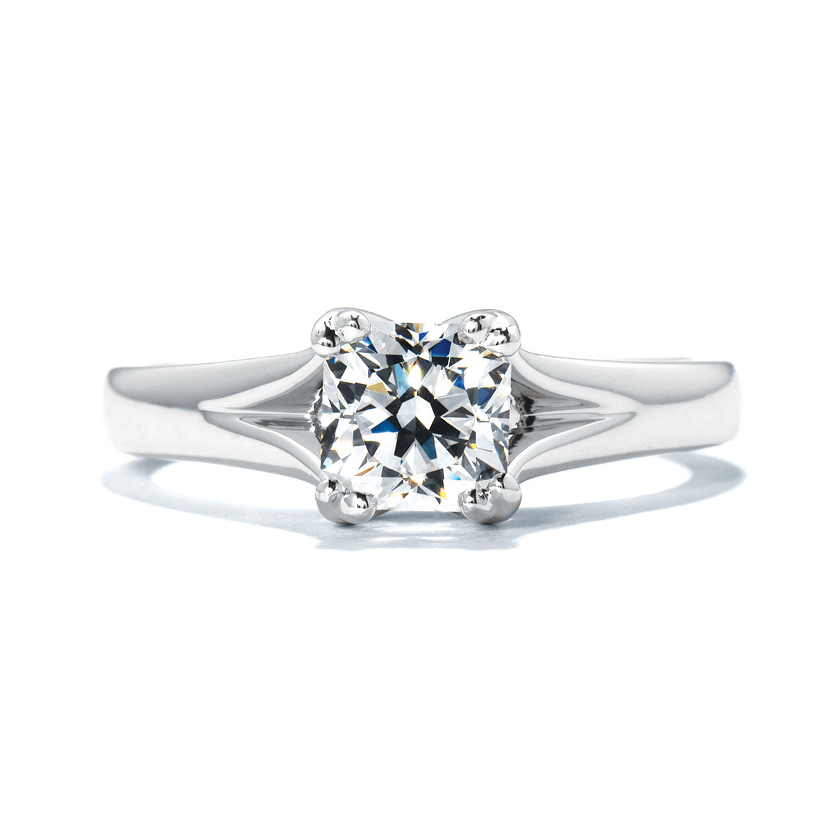 New Hearts On Fire® Seduction Engagement Ring Setting