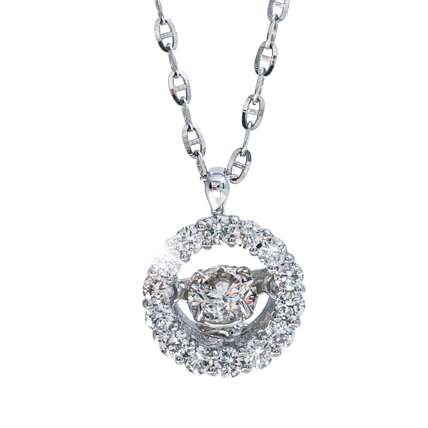 Oro Alexander 0.42 ctw Diamond Necklace
