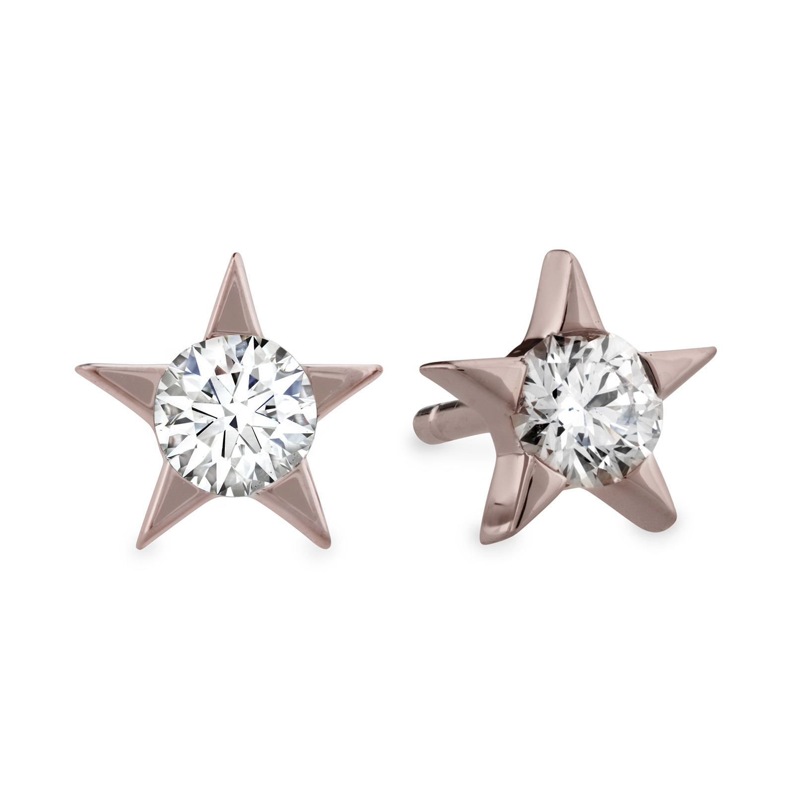 New Hearts On Fire® 0.33 CTW Diamond Illa Star Stud Earrings