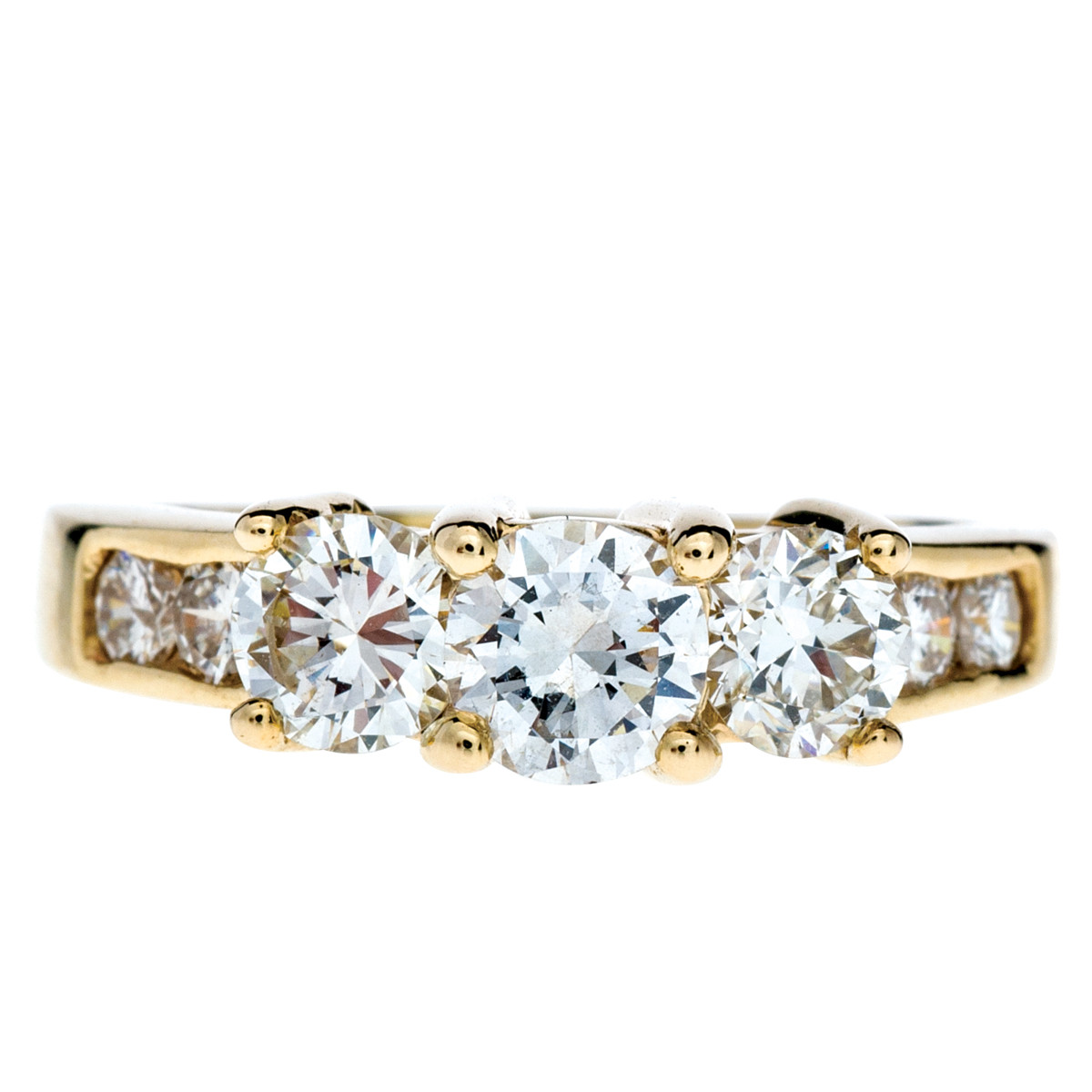 Vintage 1.03 CTW Diamond Engagement Ring