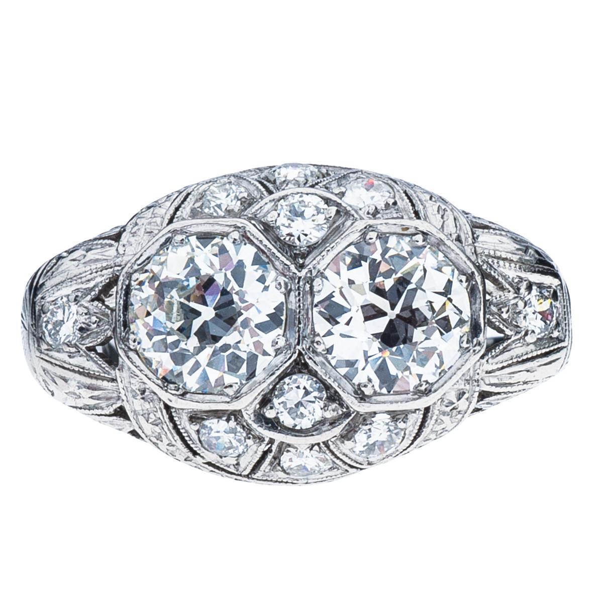 Antique Edwardian 1.62 CTW Diamond Ring