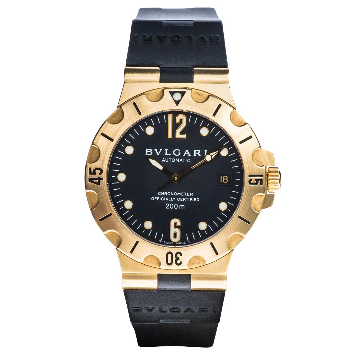 Preowned Bulgari Diagono Professional Acqua Watch