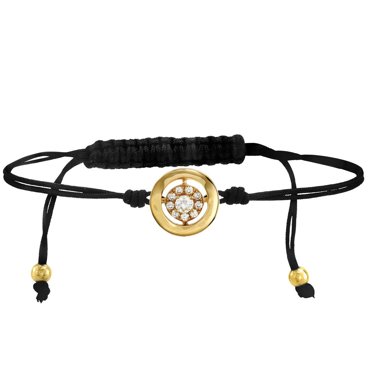 Hearts On Fire® Copley Inspiration Cord Bracelet