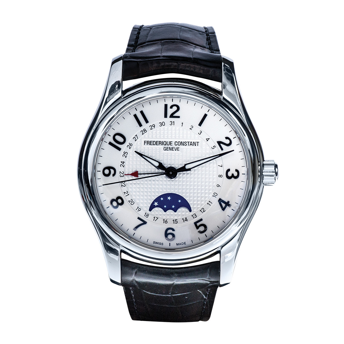 Preowned Frederique Constant Runabout Moonphase Watch