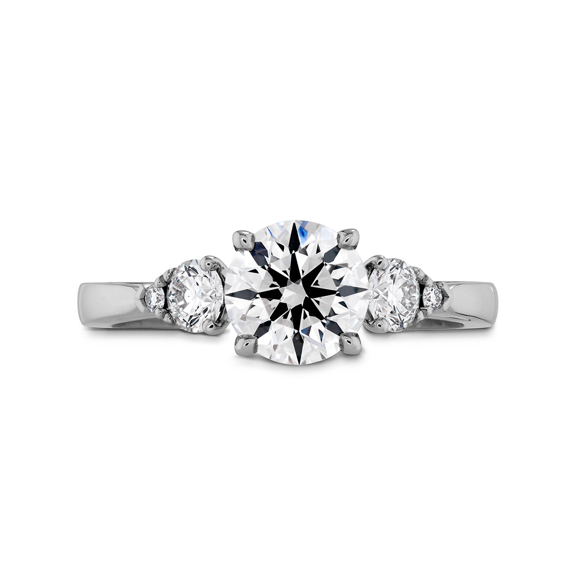 New Hearts On Fire® 0.24 CTW Signature Engagement Ring Setting