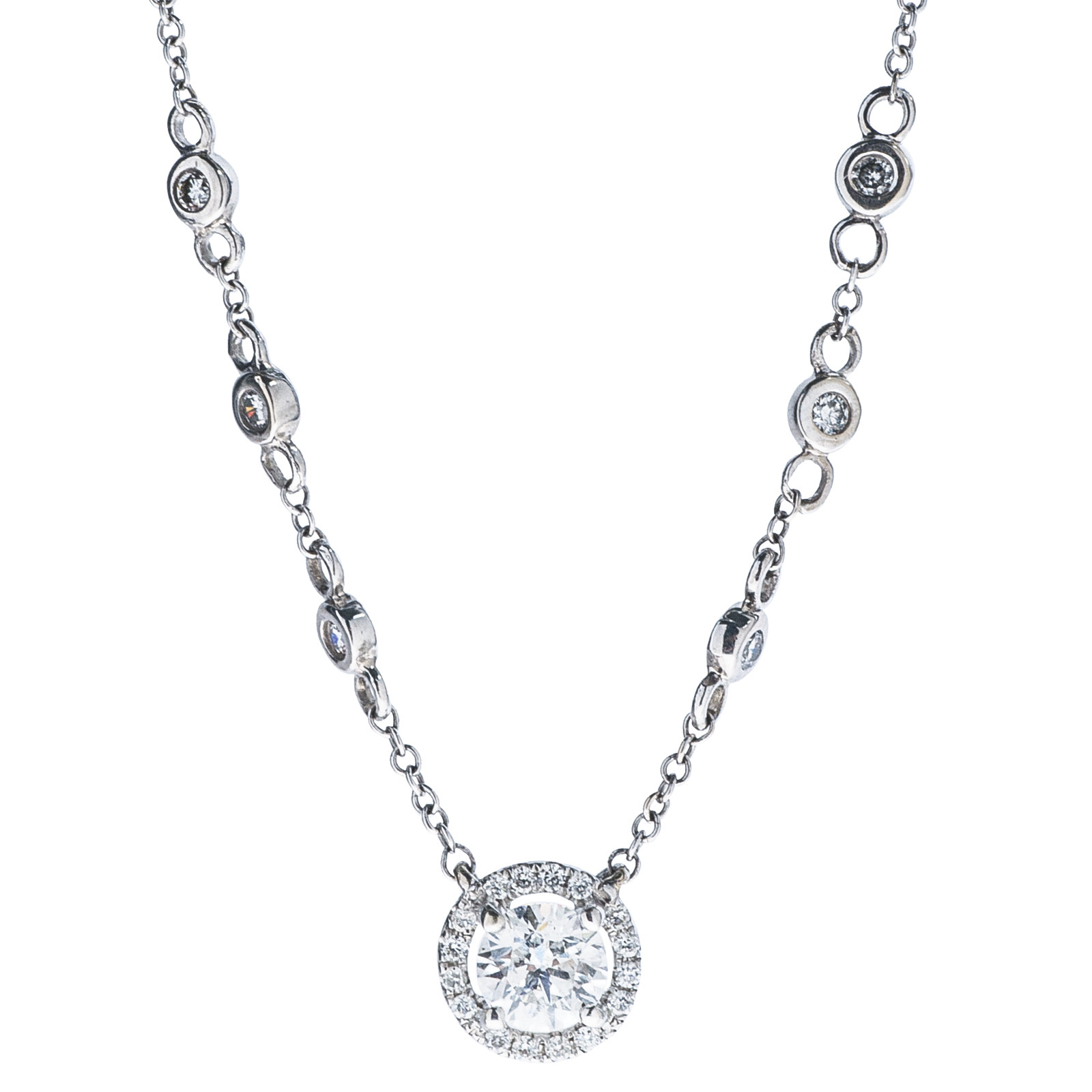 Vintage 0.62 CTW Diamond Necklace