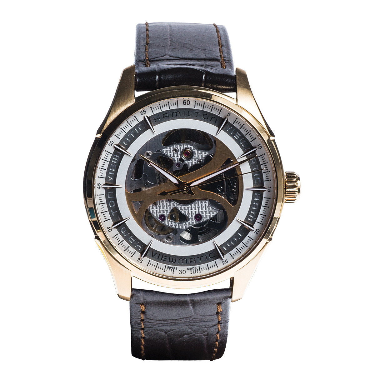 New Hamilton Jazzmaster Viewmatic Skeleton Watch