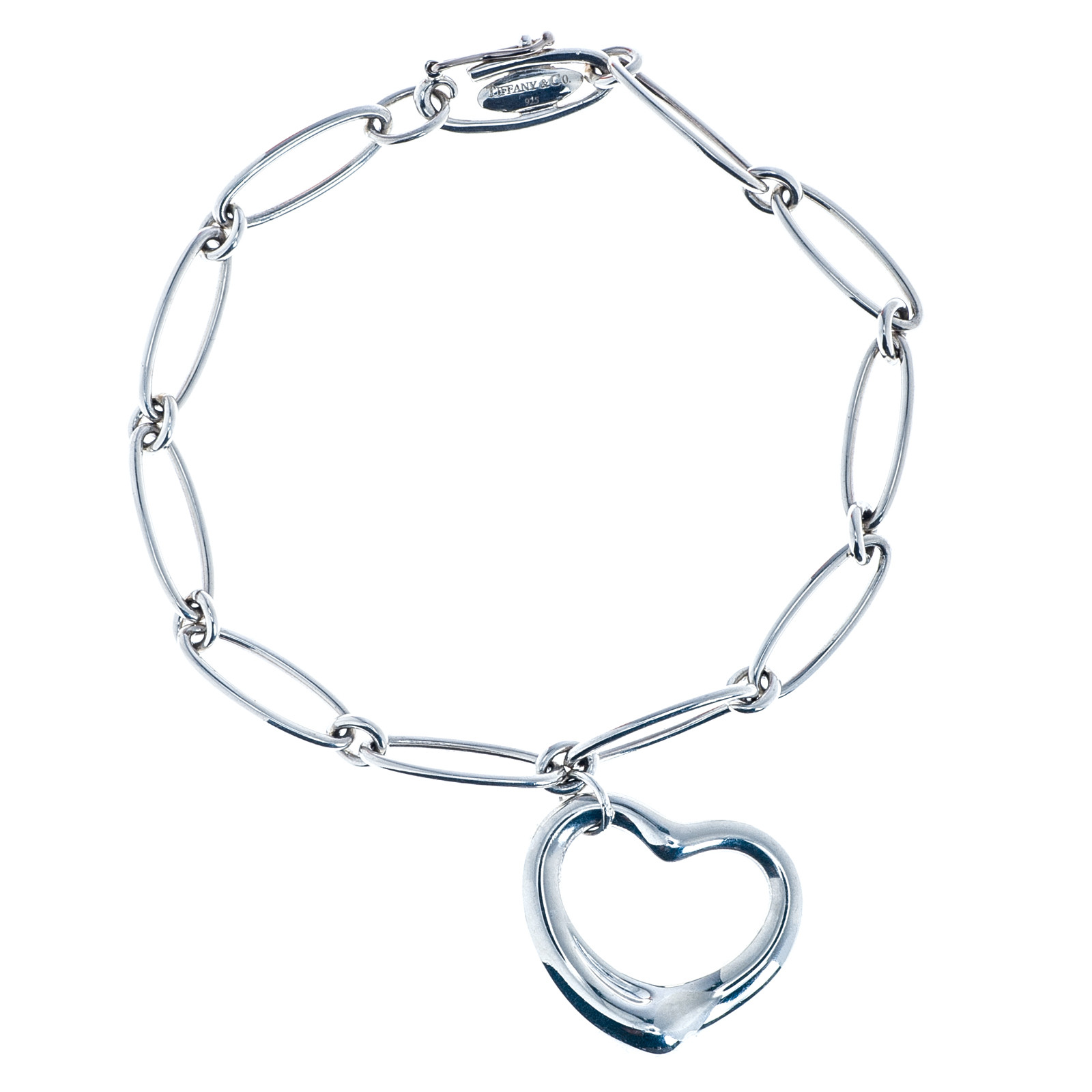 Vintage Tiffany & Co. Elsa Perreti Open Heart Bracelet