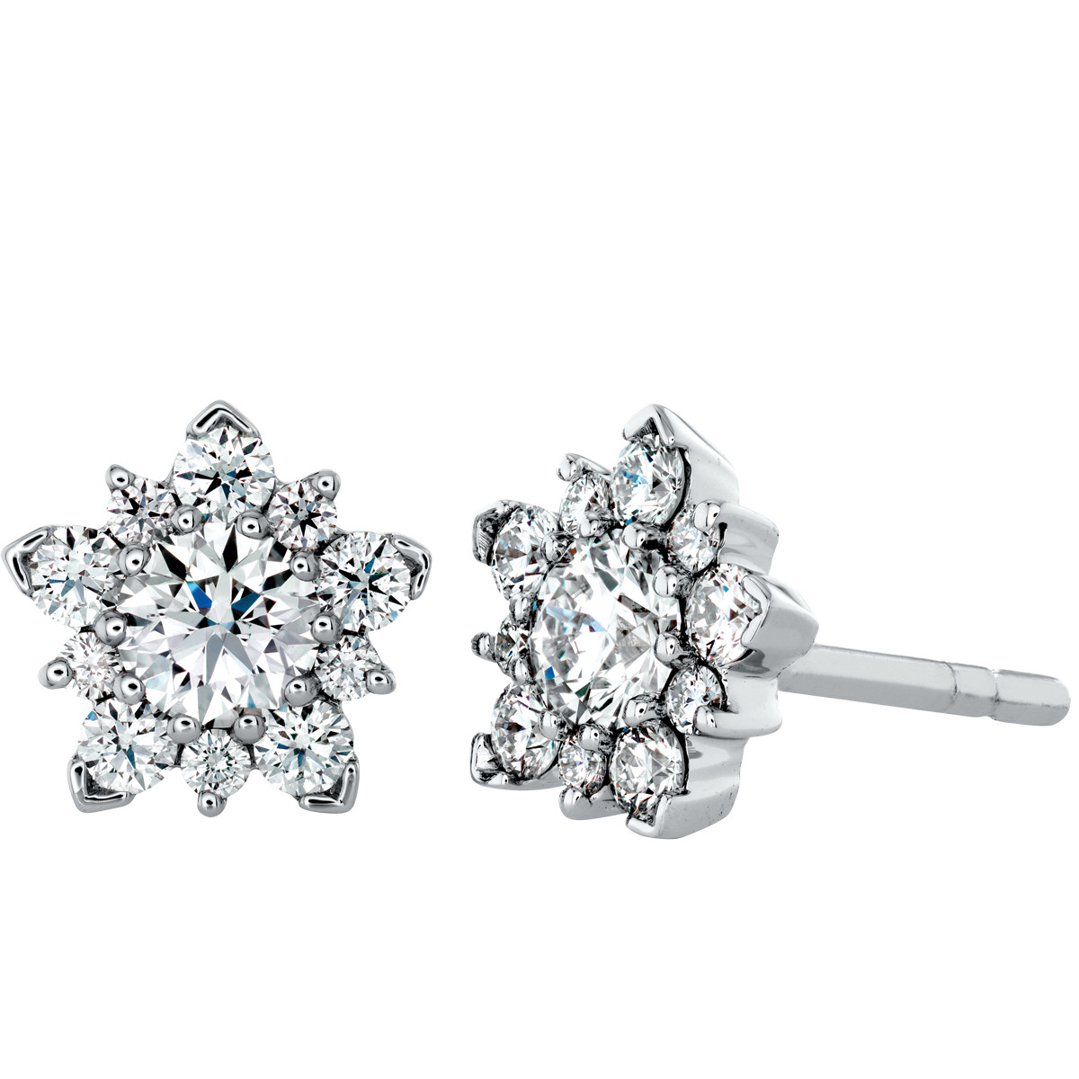 Hearts On Fire® 1.20 CTW Aerial Diamond Earrings