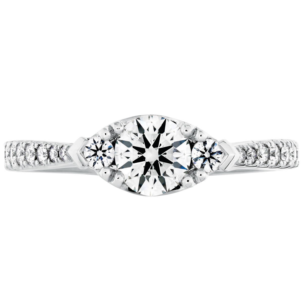 Hearts On Fire® Destiny Regal 0.79 CTW Diamond Engagement Ring