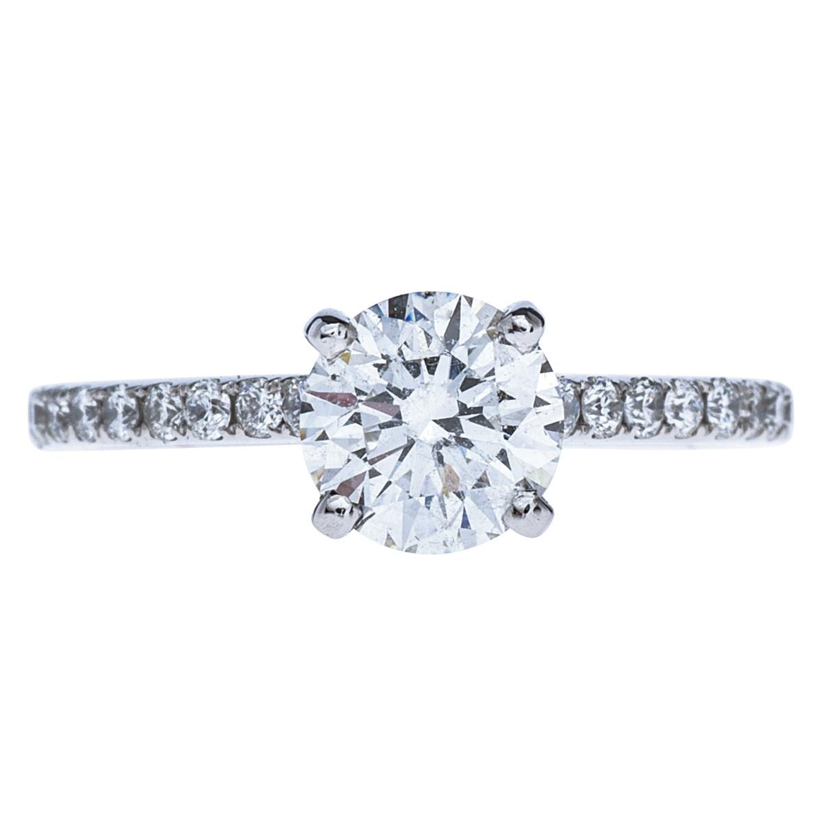 Vintage 1.29 CTW Diamond Engagement Ring