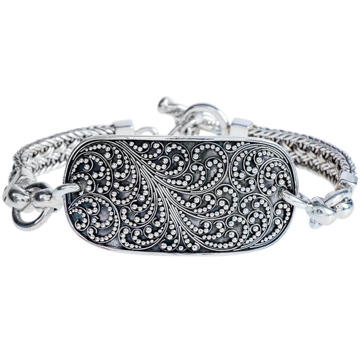 Vintage Lois Hill Filigree Bracelet