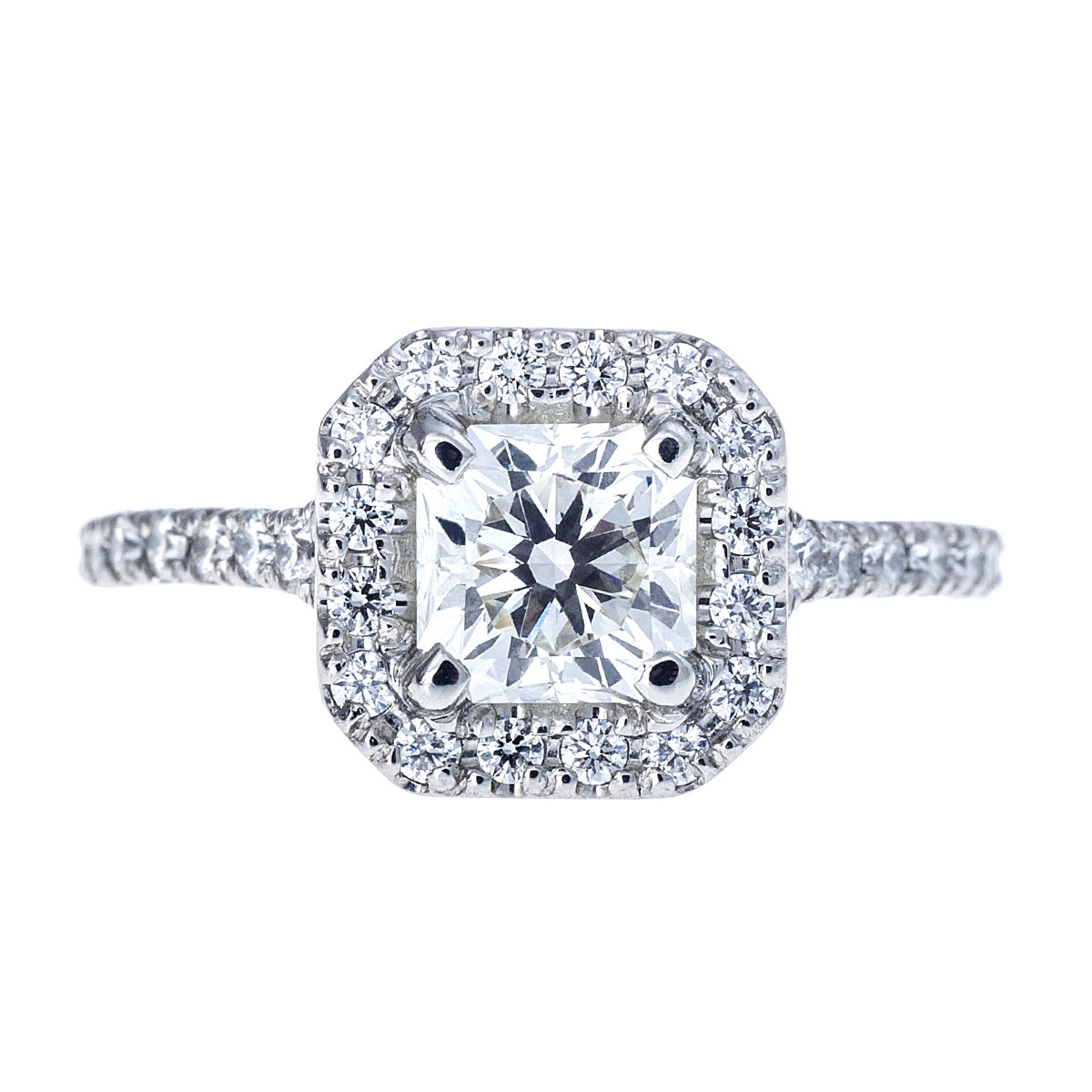 Vintage Hearts On Fire® 1.40 CTW Dream Diamond Transcend Engagement Ring