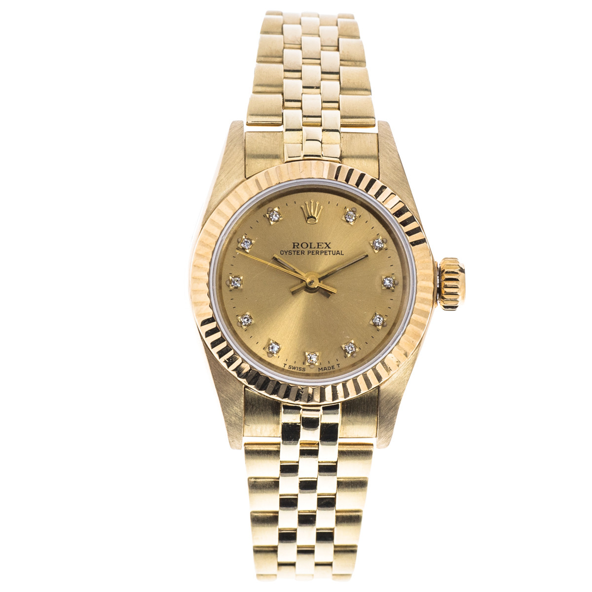 Preowned Rolex Oyster Perpetual with Jubilee Bracelet