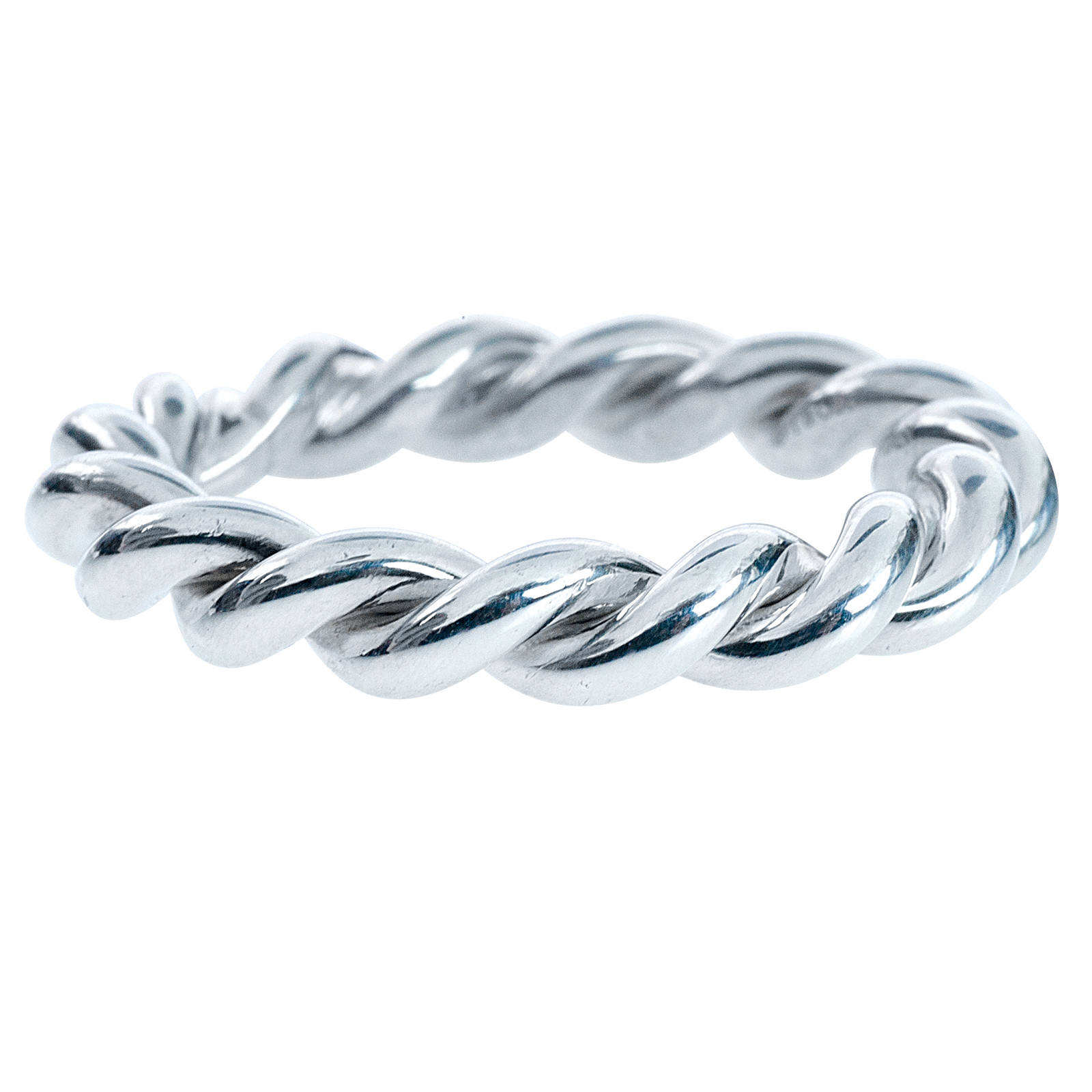 Vintage Tiffany & Co. Twist Rope Ring