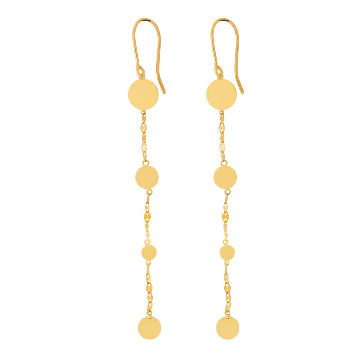 Lana Short Shimmer Dangle Earrings