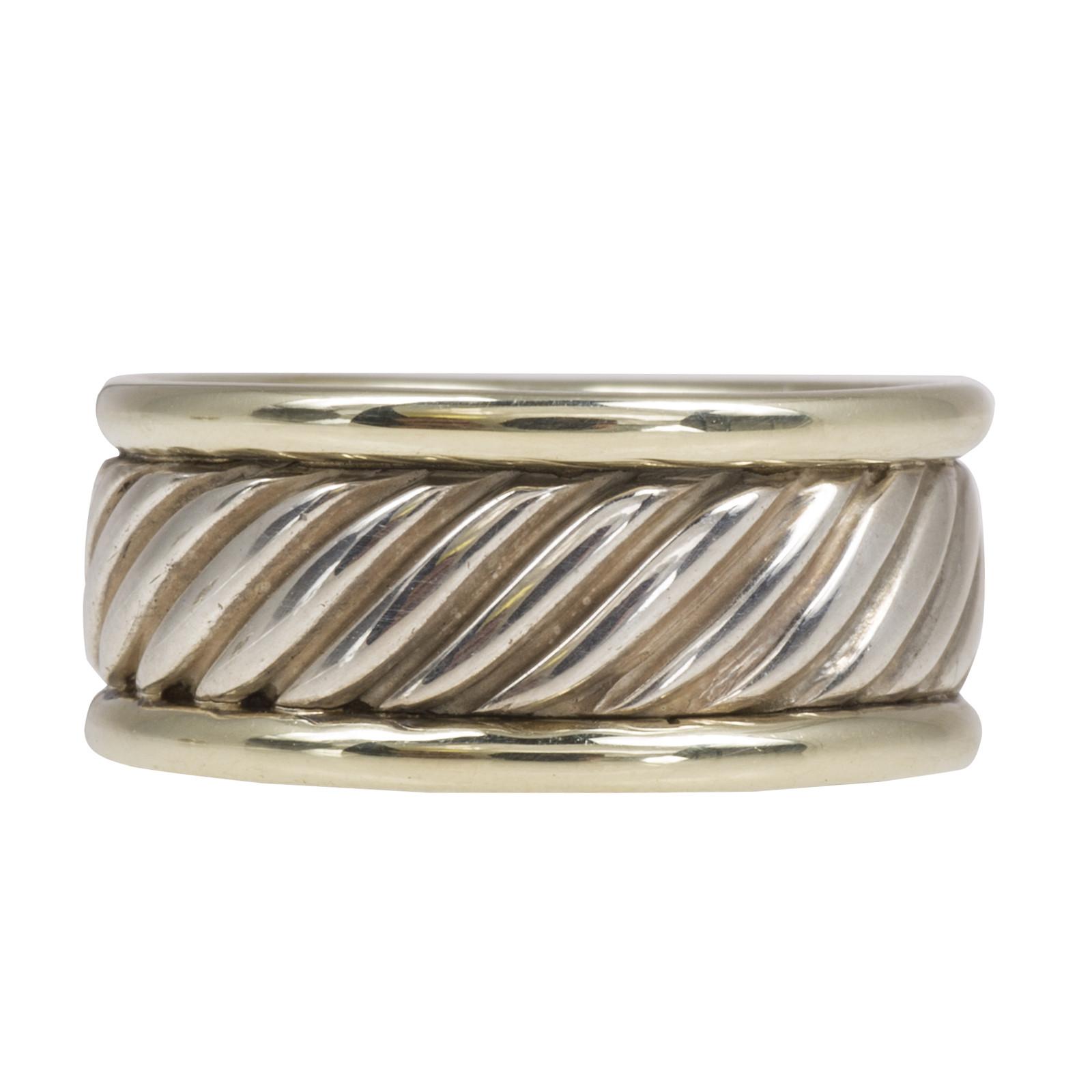 Vintage David Yurman Thoroughbred Cable Ring