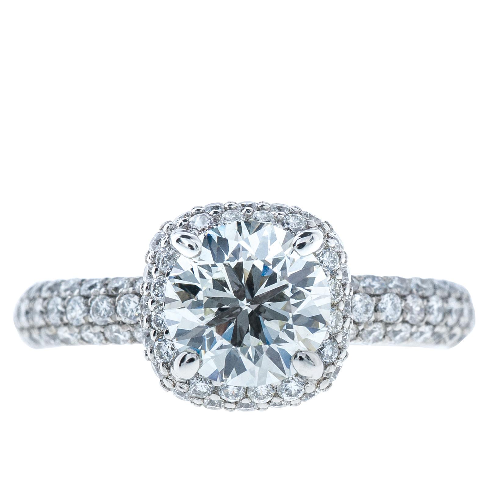 Vintage 2.07 CTW Diamond Engagement Ring