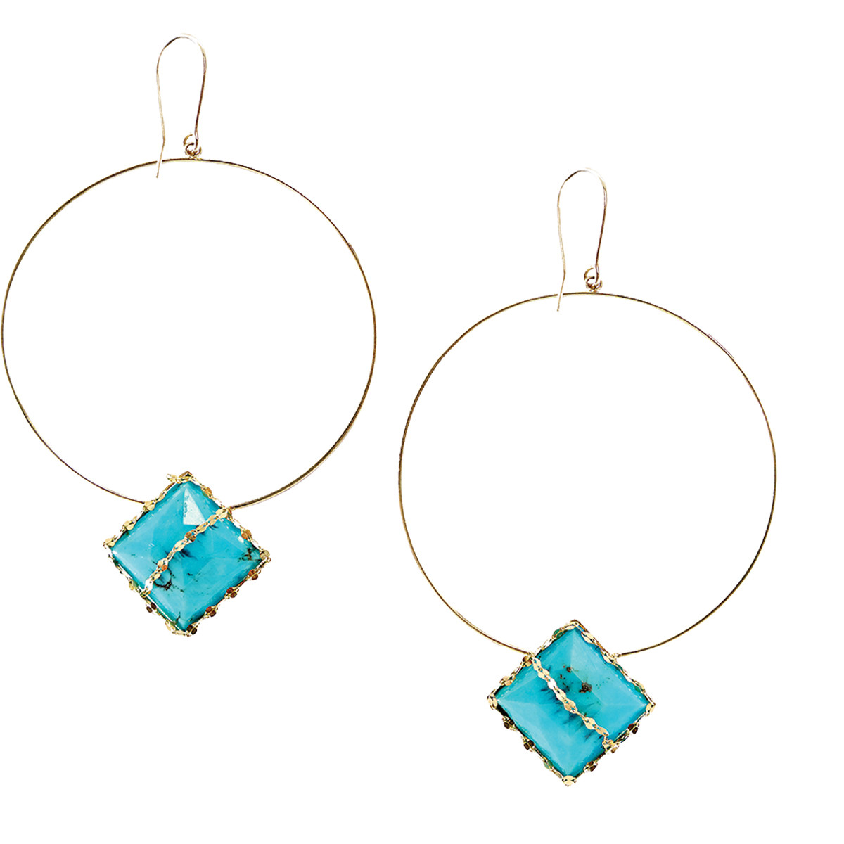 New Lana Turquoise Bliss Earrings