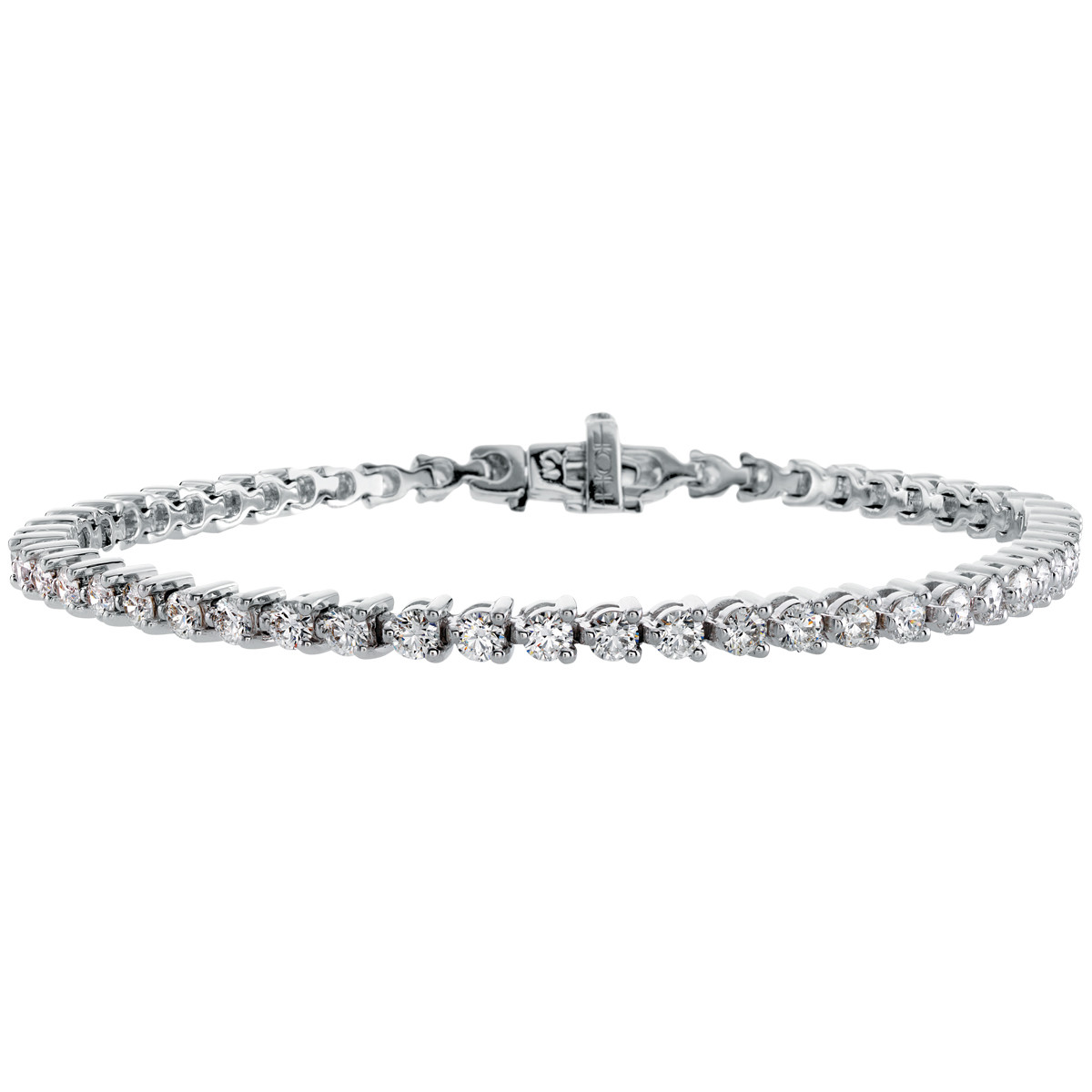Hearts On Fire® Select Temptation 3.44 CTW Diamond Tennis Bracelet