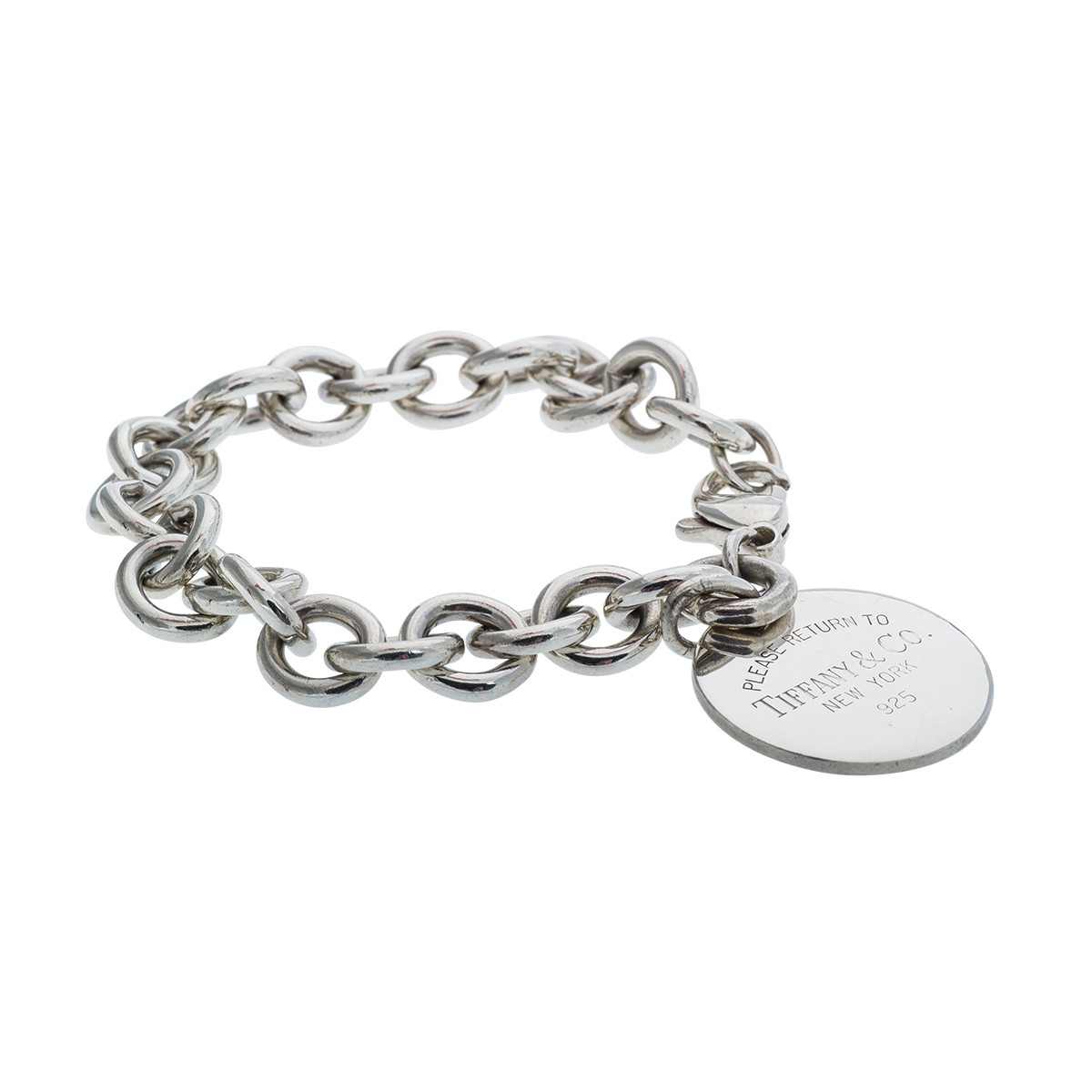 Vintage Tiffany & Co. Please Return to Tiffany Bracelet