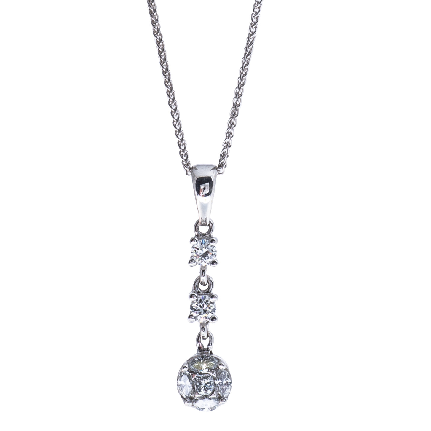 Vintage 0.38 CTW Diamond Necklace