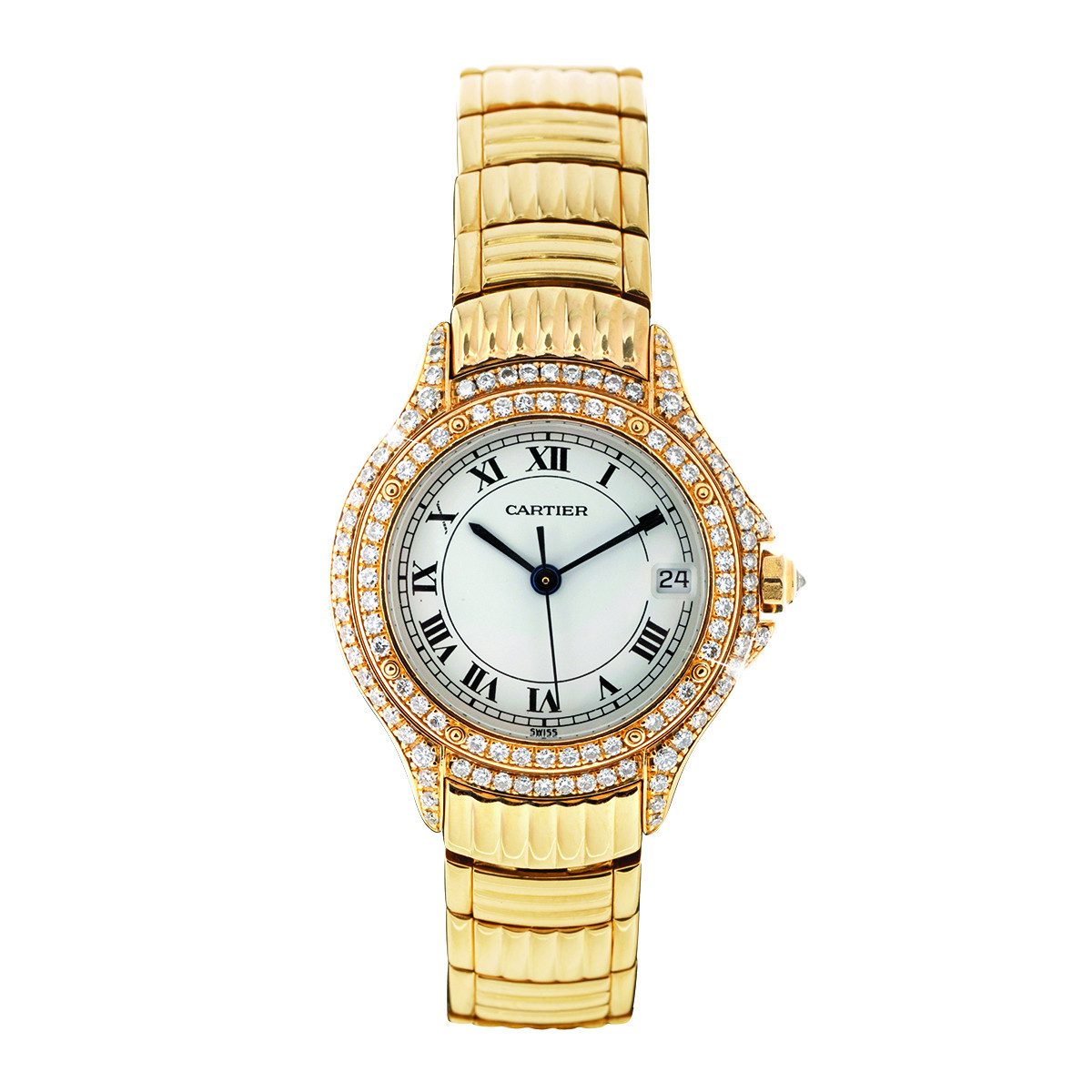 Preowned Women's Cartier Cougar Watch