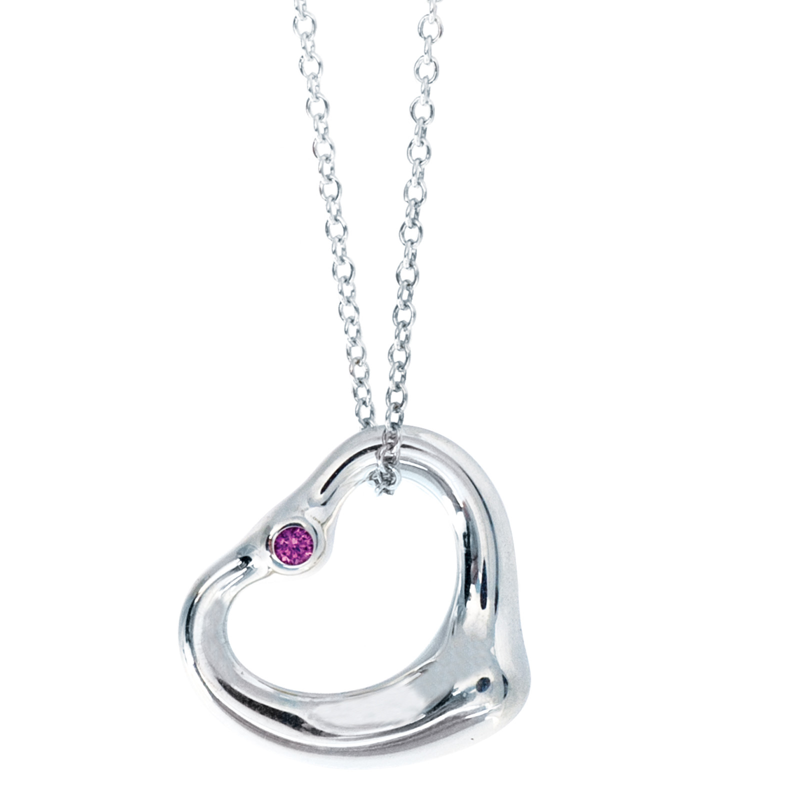 Vintage Tiffany & Co. Elsa Peretti Heart Necklace