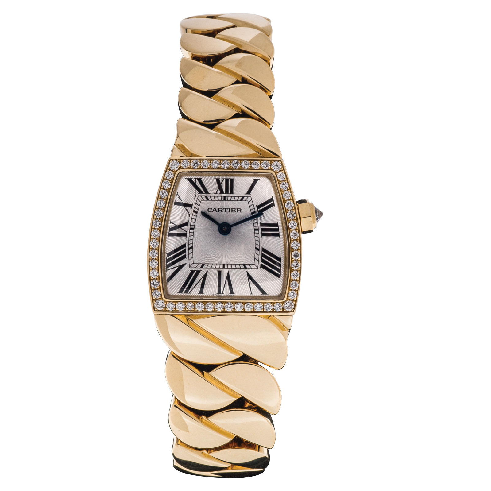 Preowned Cartier La Donna with Diamond Bezel