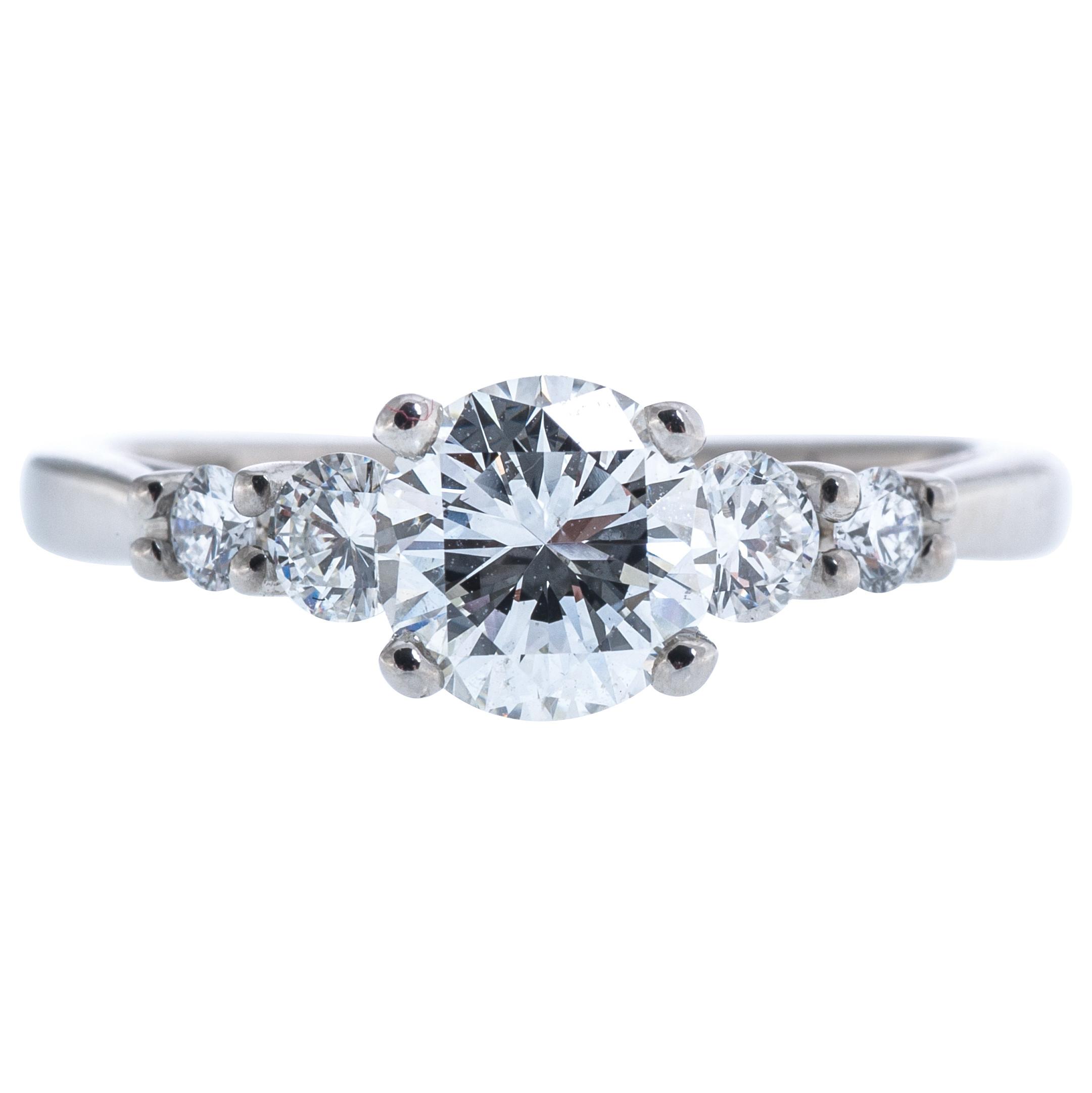 Vintage Scott Kay 1.38 CTW Diamond Engagement Ring