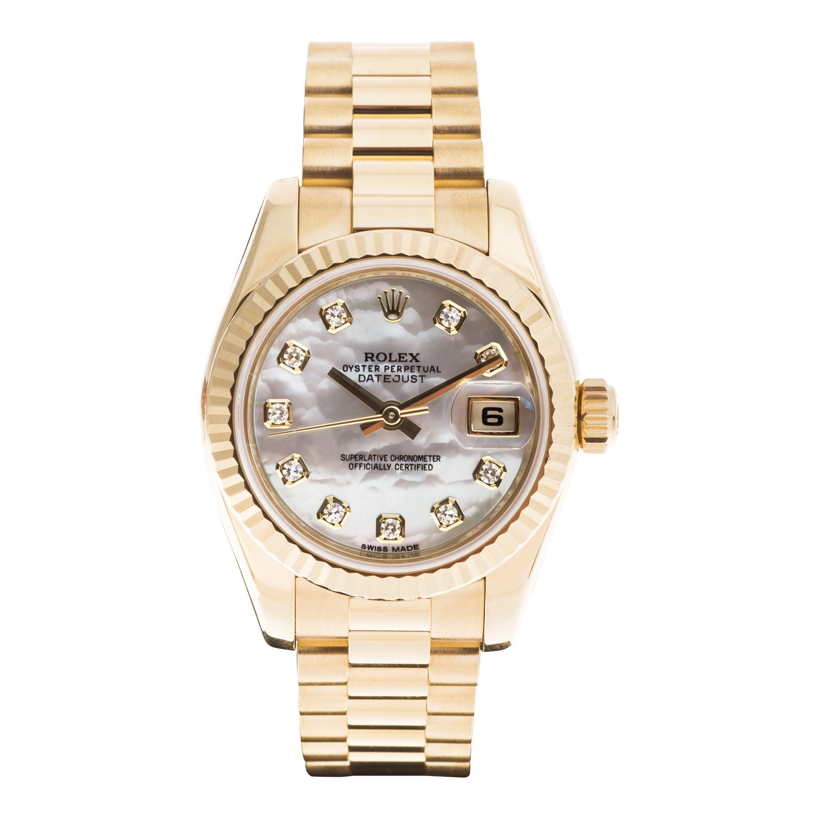 Preowned Women's Rolex Datejust President