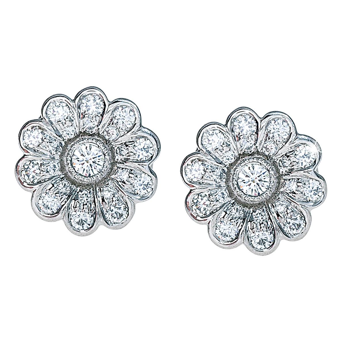 Vintage Tiffany & Co. 0.28 CTW Diamond Studs