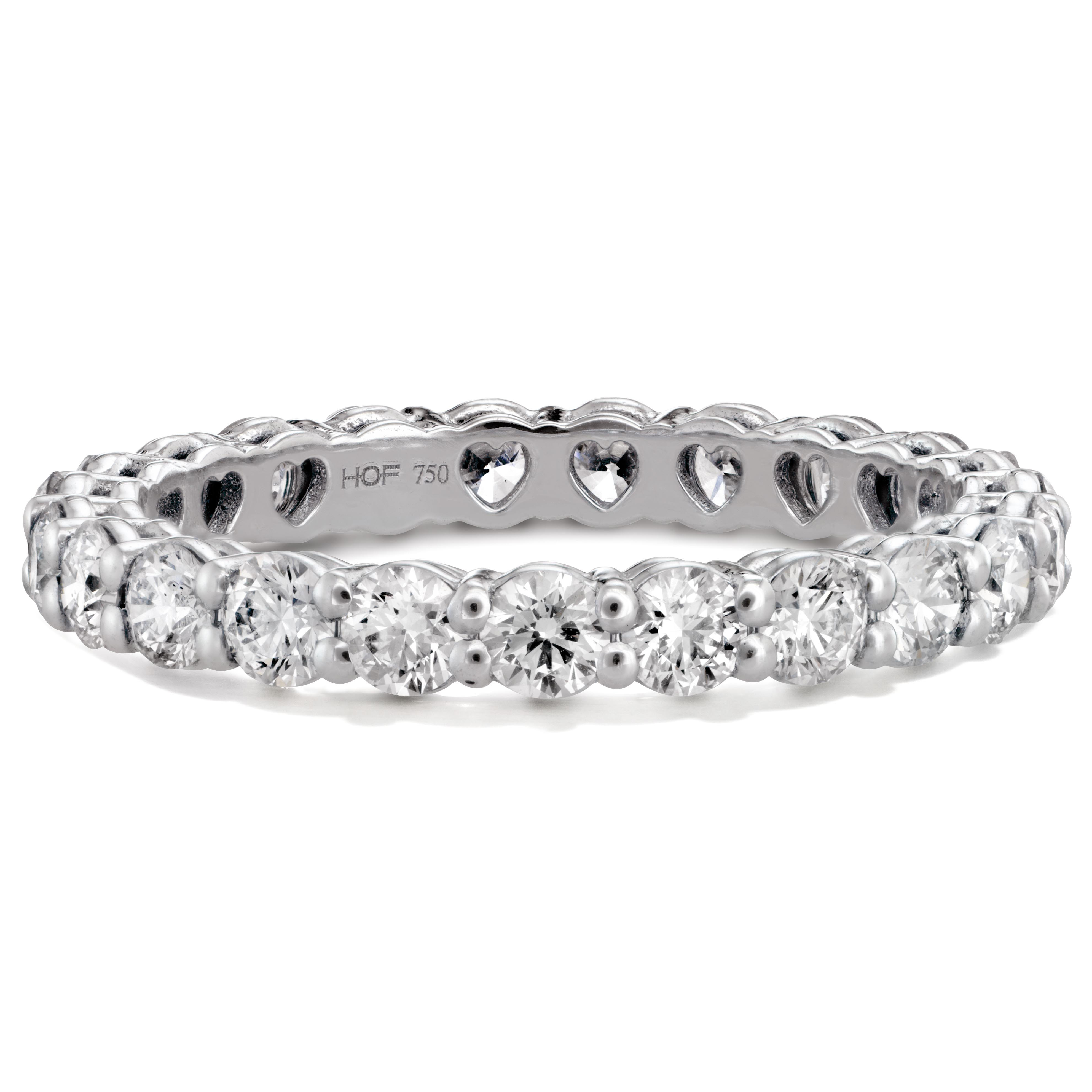 New Hearts On Fire® 1.22 CTW Multiplicity Love Eternity Band