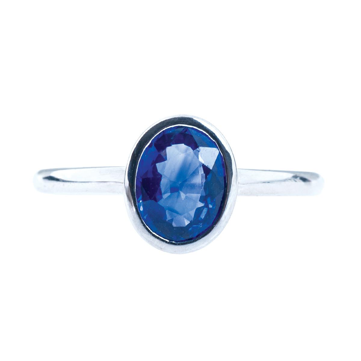 Vintage 1.02 Sapphire Ring