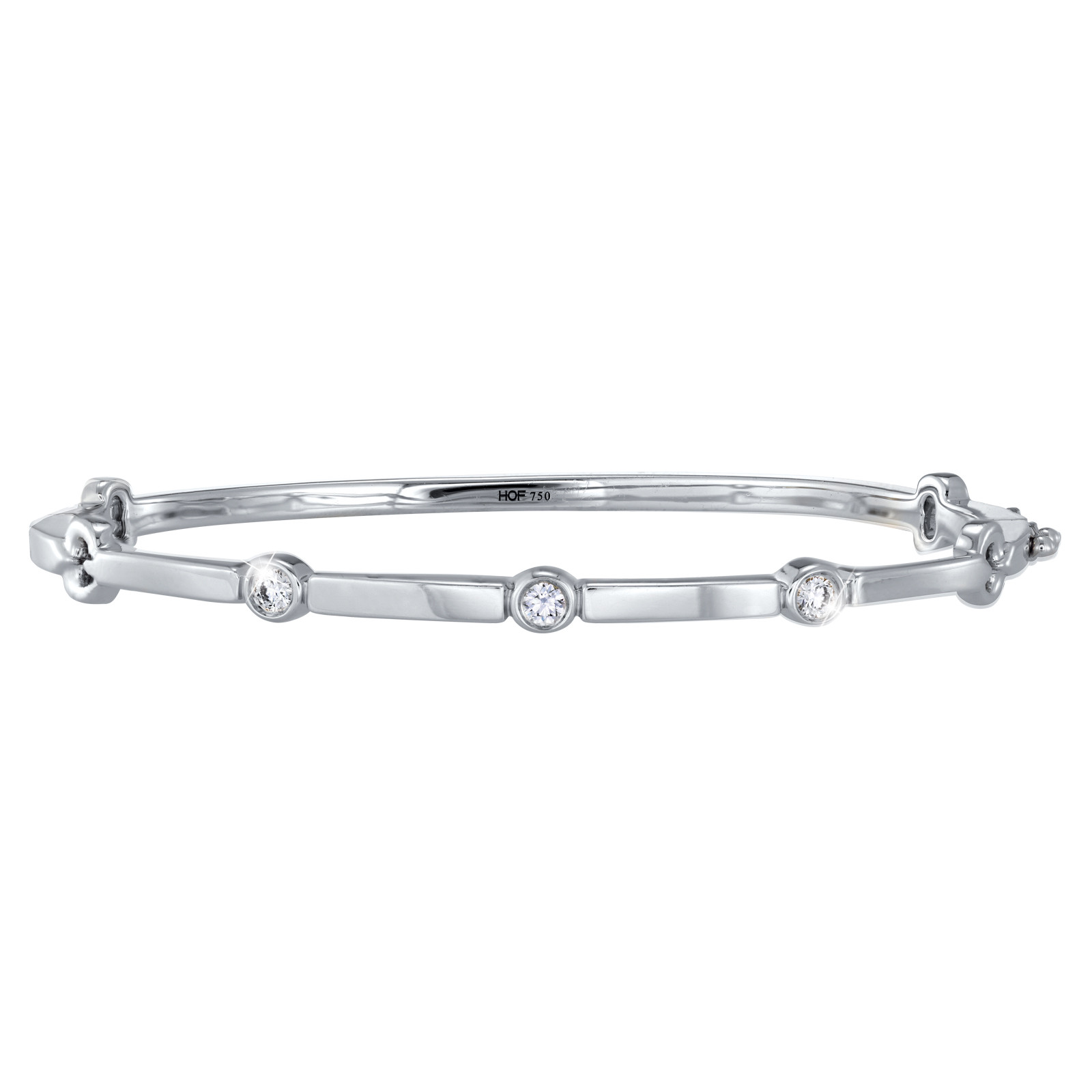 Hearts On Fire® Medium Copley Multi Stone Bangle