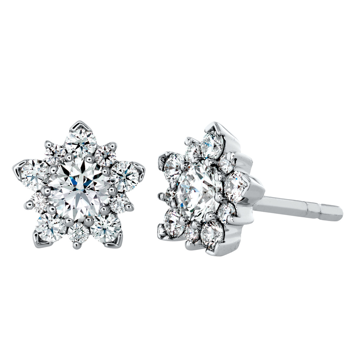 New Hearts On Fire® Aerial Cluster Stud Earrings