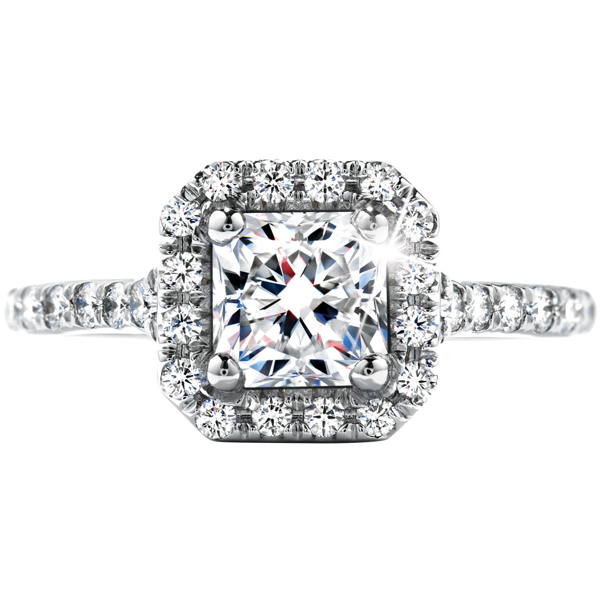 New Hearts On Fire® 1.57 CTW Dream Transcend Engagement Ring