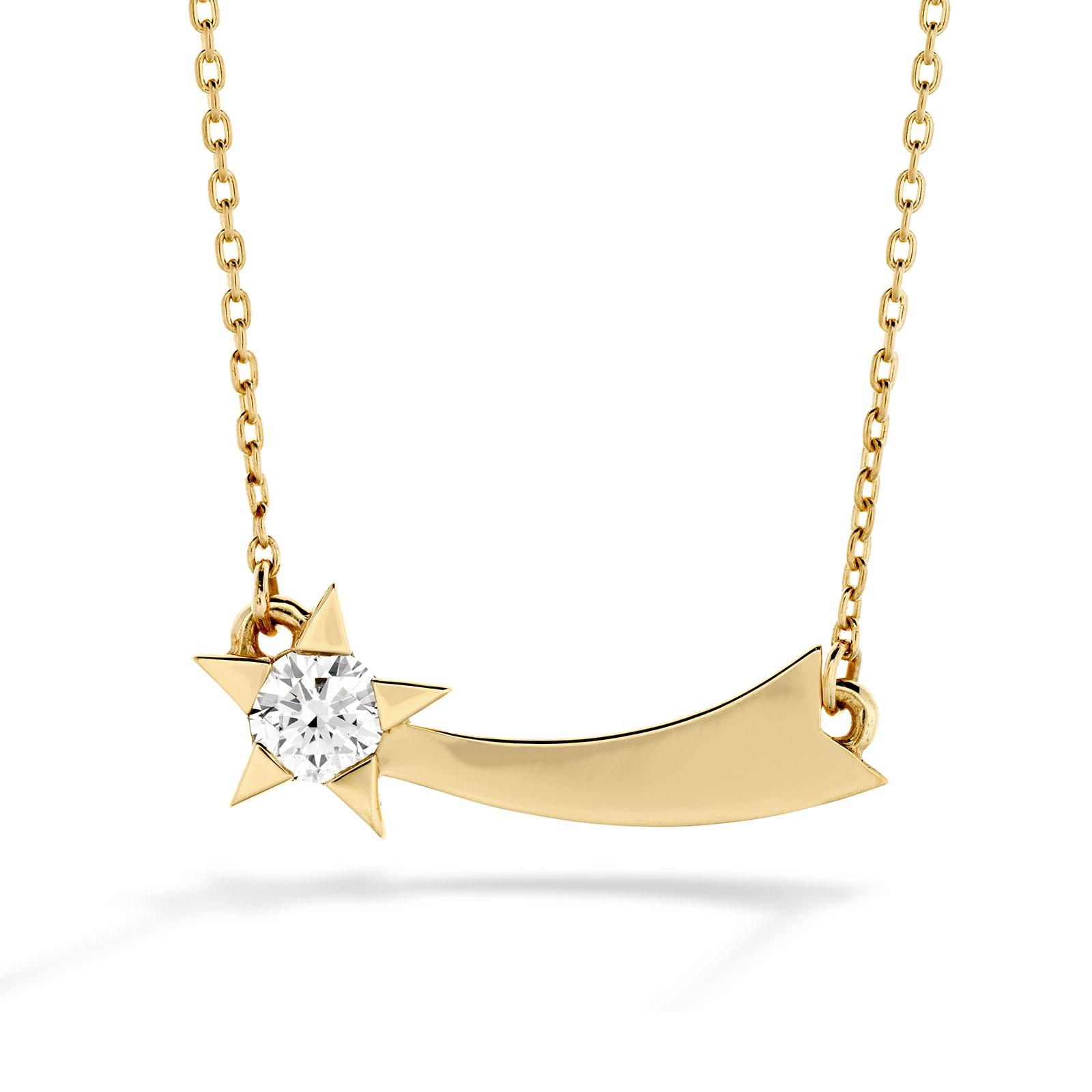 New Hearts On Fire® 0.14 CTW Diamond Illa Comet Necklace