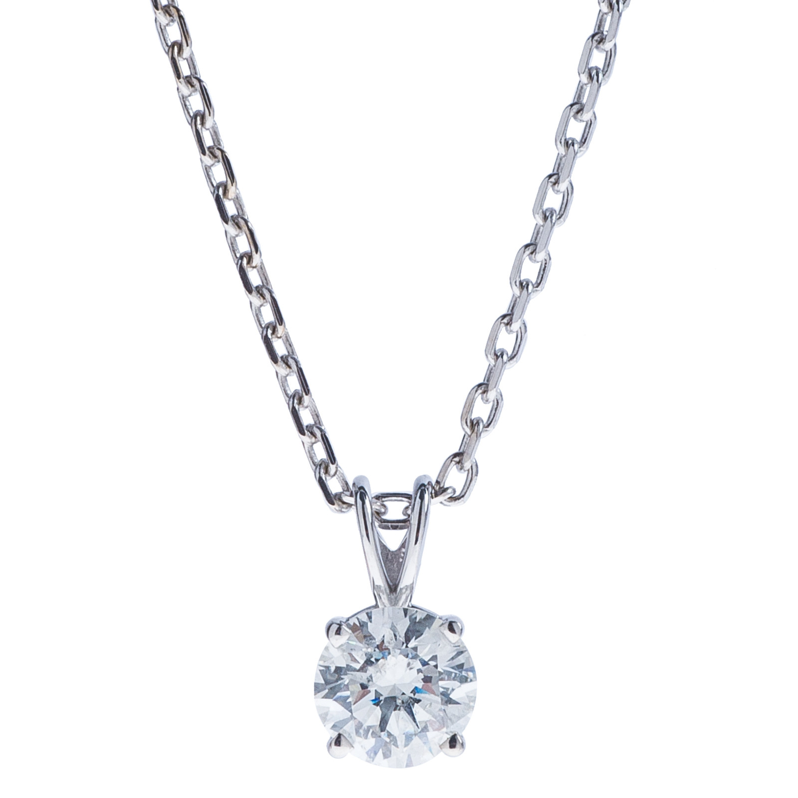 0.74 CT Diamond Pendant