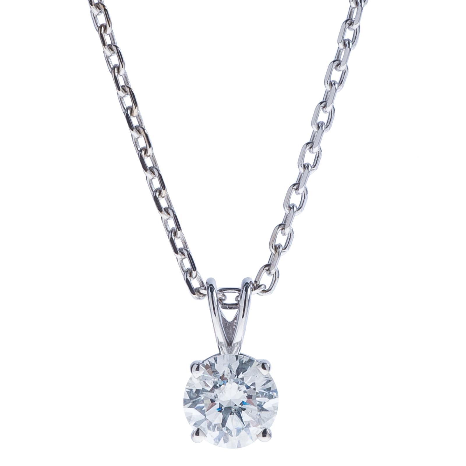 0.74 CT Diamond Pendant