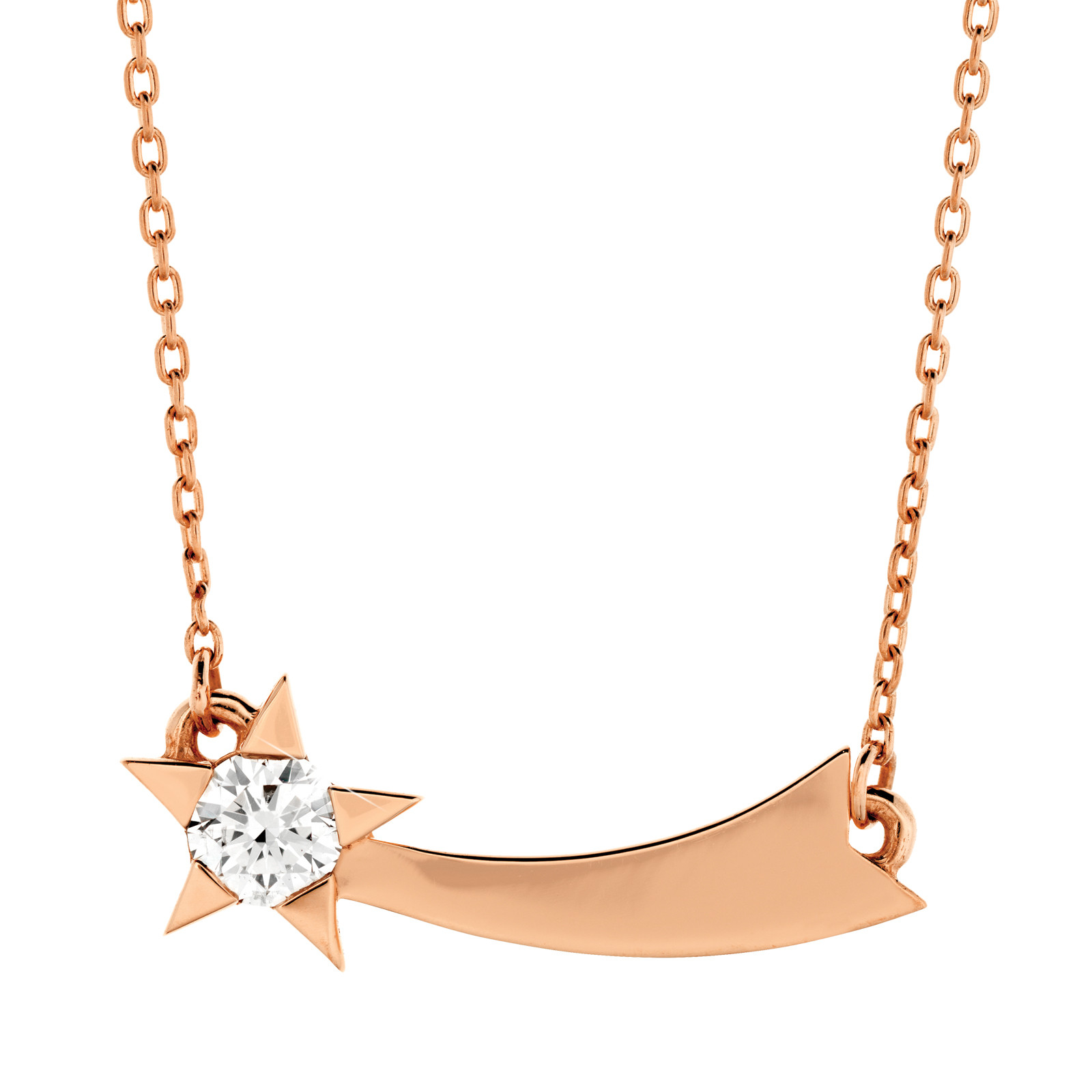 Hearts On Fire® Illa Single Comet Necklace