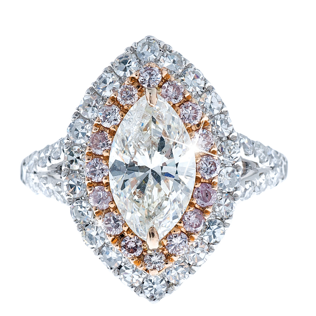 New 2.78 CTW Diamond Engagement Ring