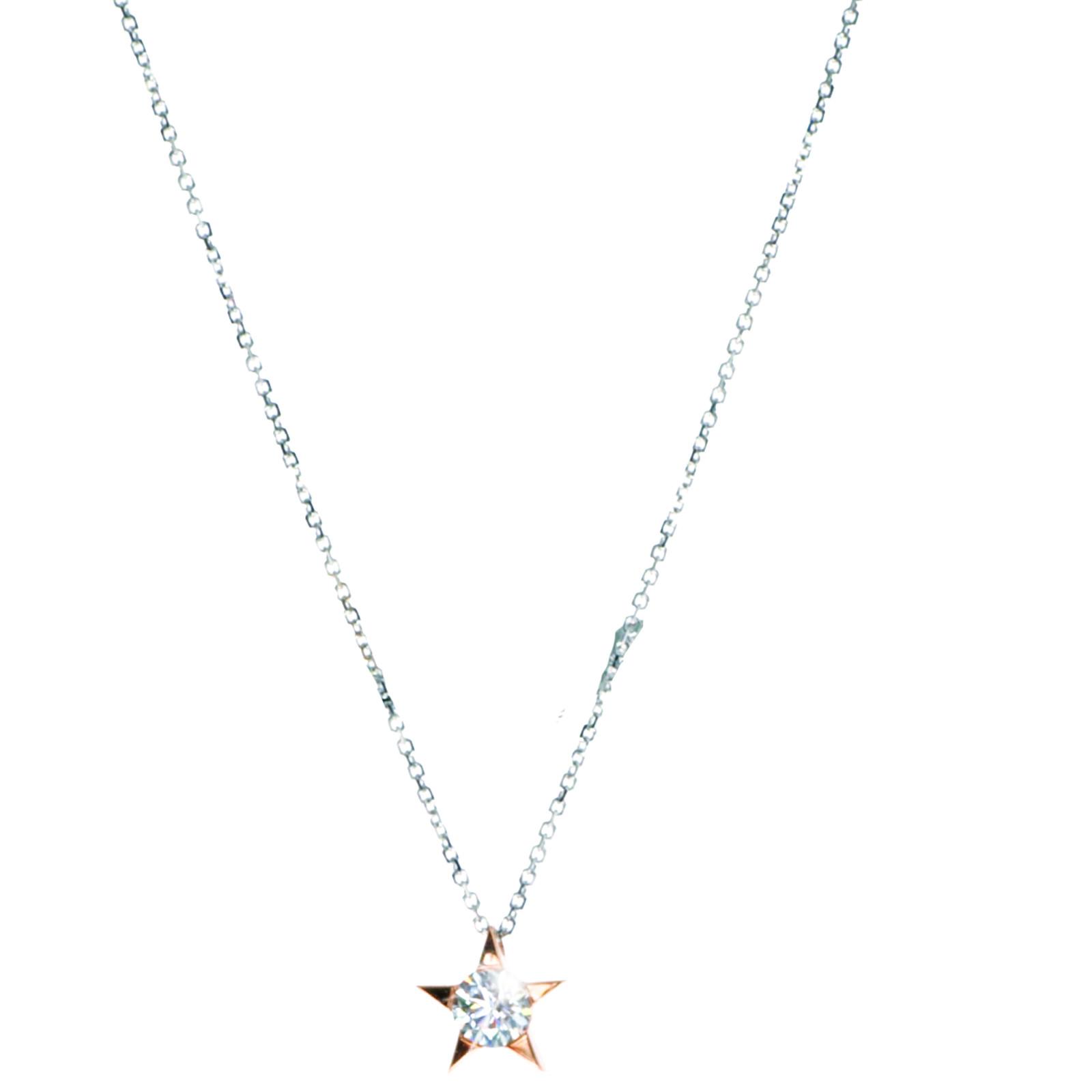 Hearts On Fire® 0.16 CT Diamond Illa Star Pendant