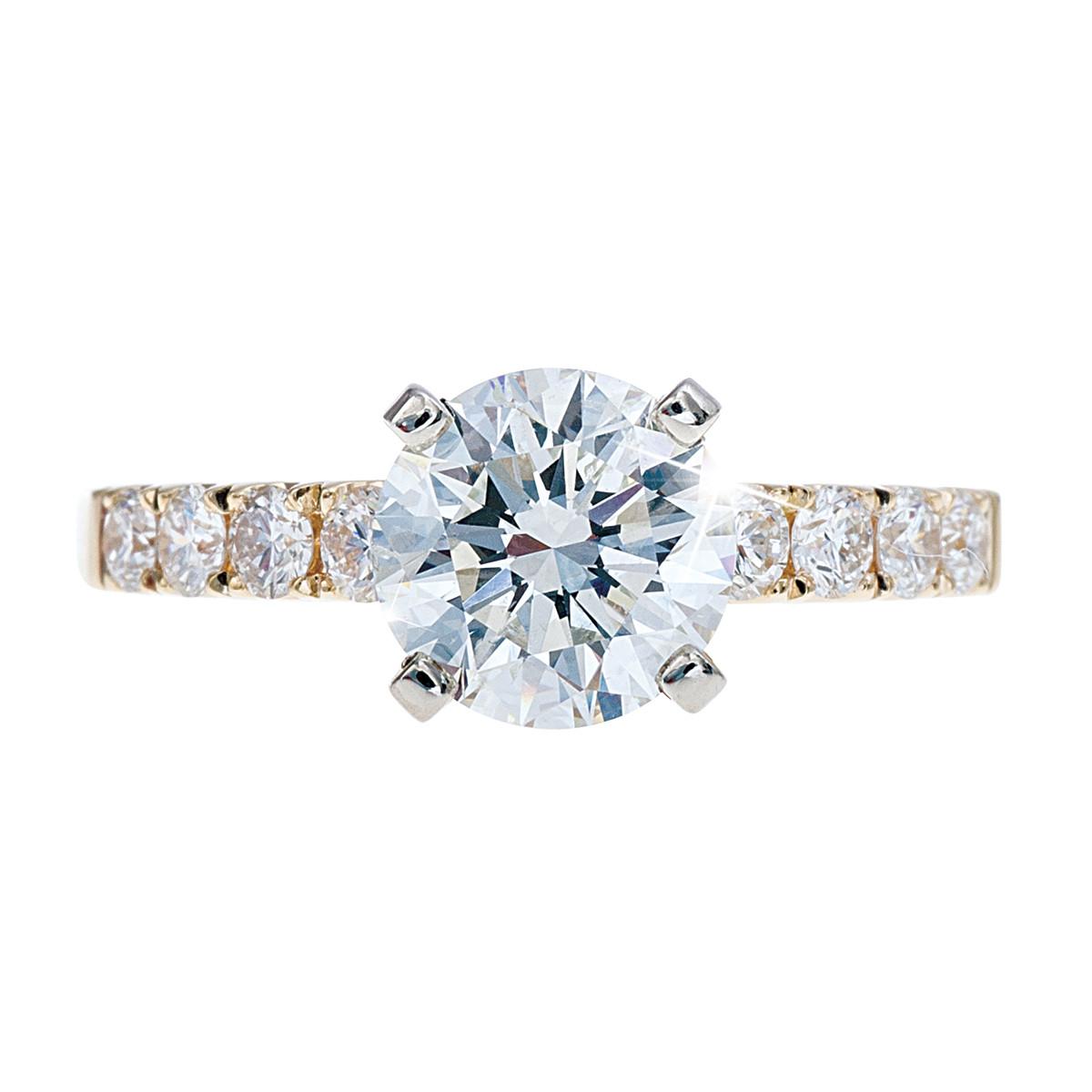 Venetti 2.02 CTW Diamond Engagement Ring