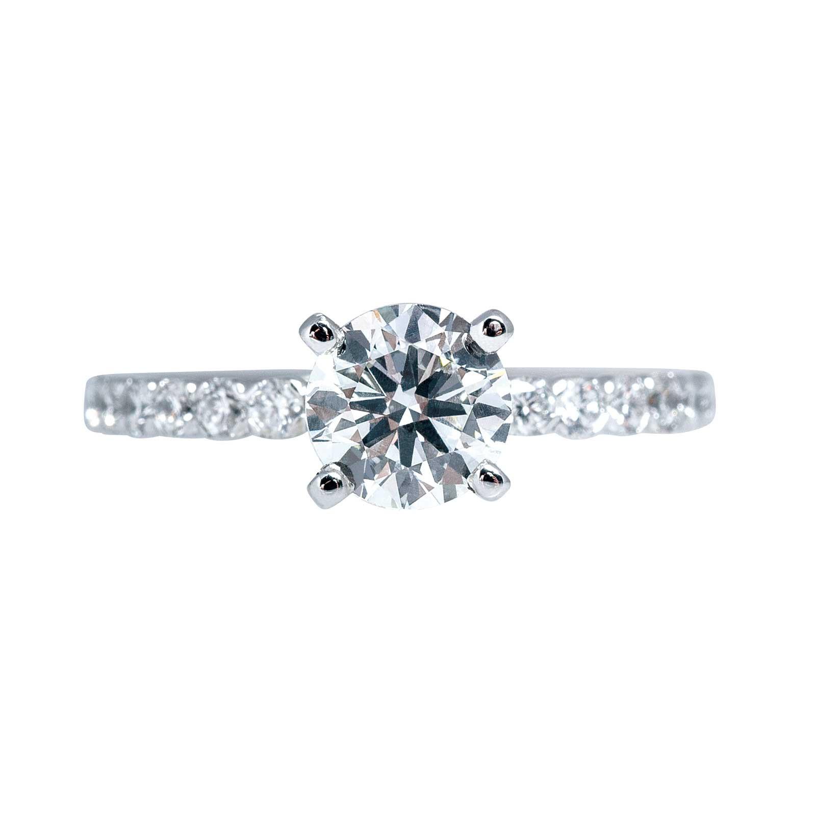 New Venetti 1.37 CTW Diamond Engagement Ring