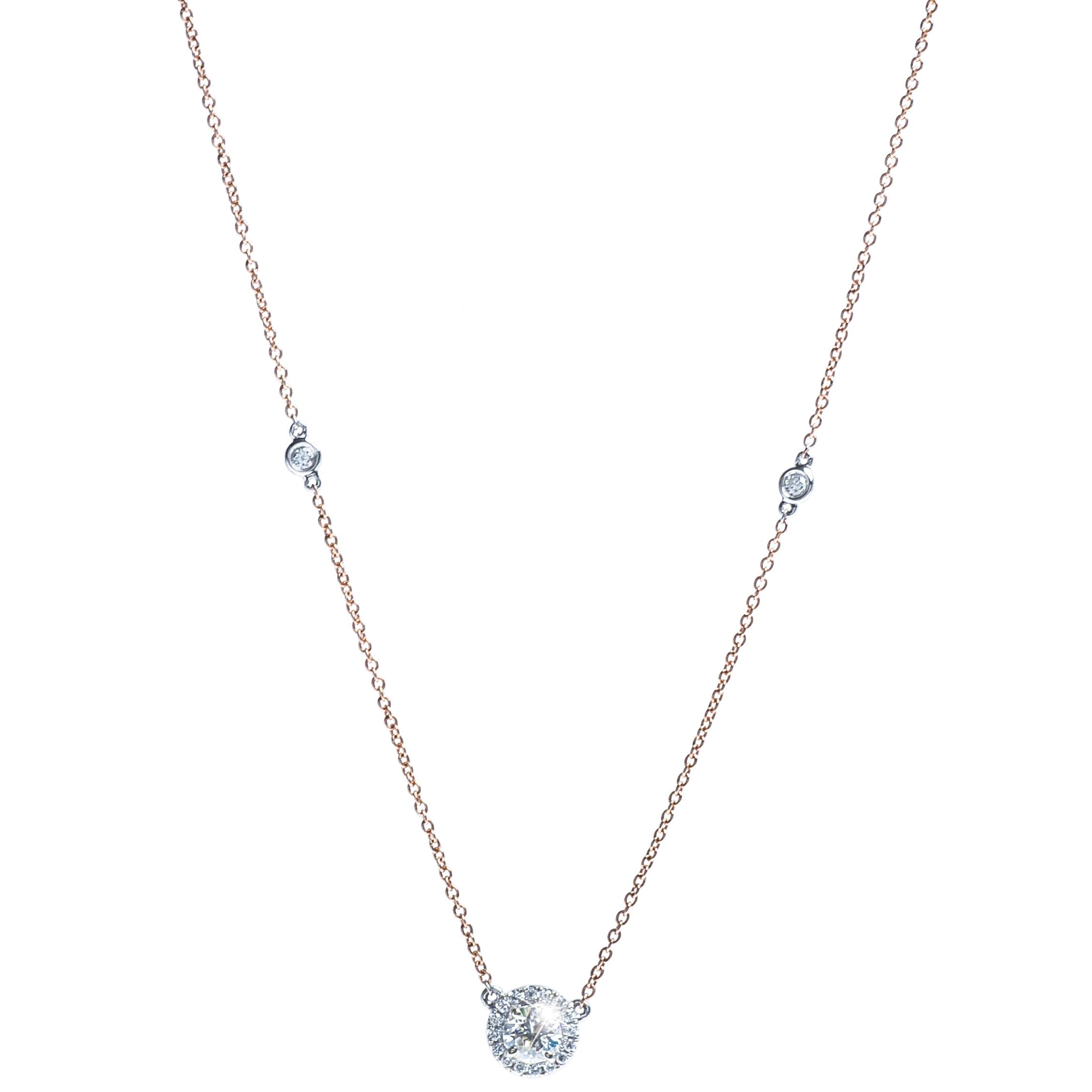 New 0.71 CTW Diamond Pendant