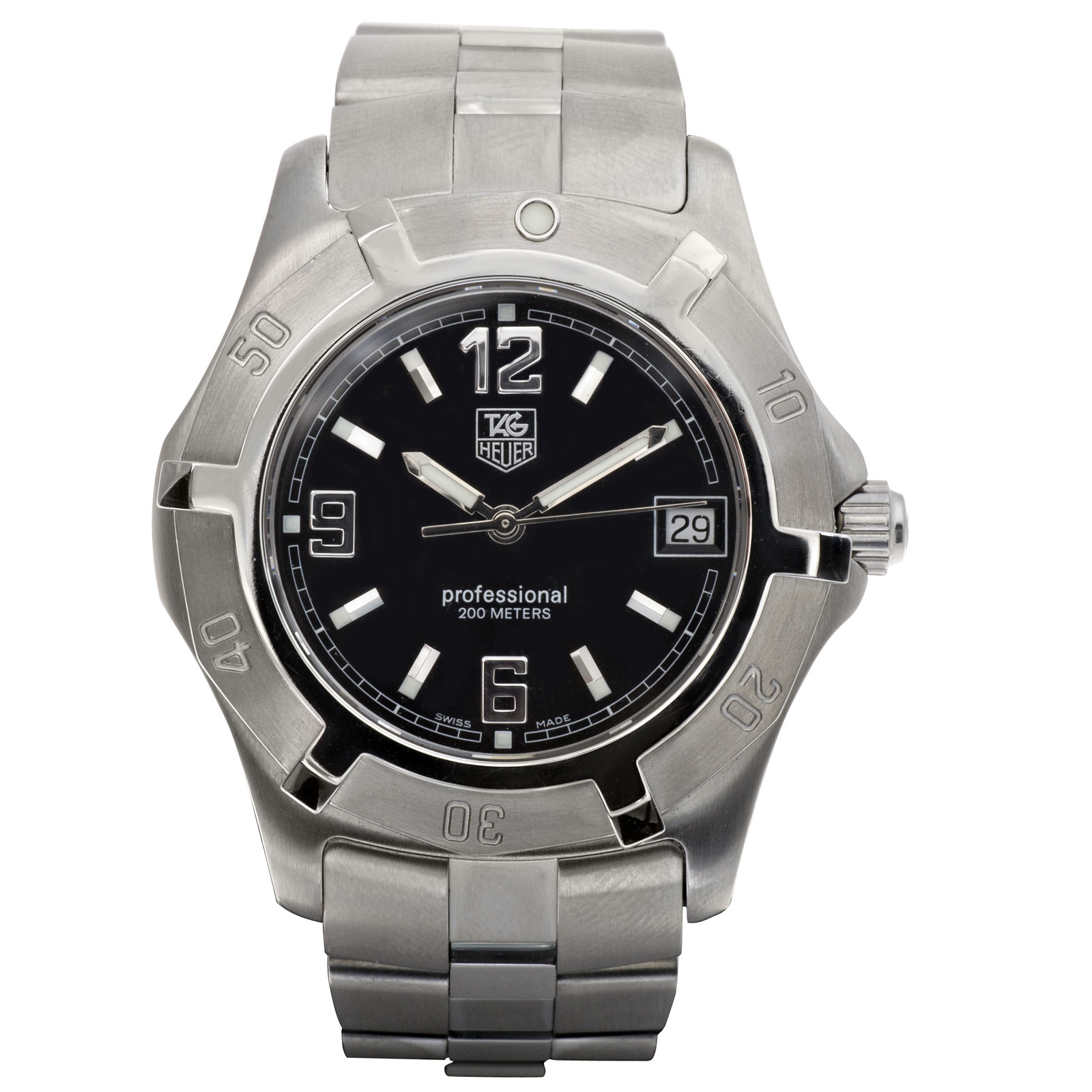 Preowned Tag Heuer Professional Watch